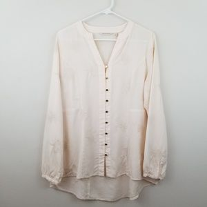 Soft Surroundings | Sonja Embroidered Tencel Top